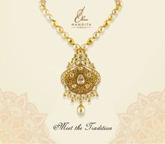 Let's create a #sparkle in every step you take with the magnificent collection by ShreeNandita. #Diamond #Gold #necklace #WeddingJewellery #Traditional #Ethnic