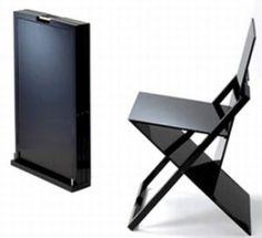 Världens tunnaste stol - Vågar man sätta sig på den verkligen? | Feber / Hem