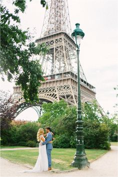 getting married under Eiffel Tower | Image by Maya Maréchal Photography