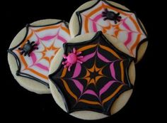 Easy Halloween Sugar Cookie Decorating Ideas #food #recipe
