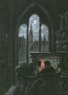 """""""Manfred"""" by Lord Byron   Byron undertook """"Manfred,"""" his most Gothic work, in late 1816, a few months after the famed ghost-story sessions which provided the initial impetus for Mary Shelley's Frankenstein and John Polidori's The Vampyre, which some argue is based on Byron's fragment of a novel, his brief response to the challenge of the ghost-story sessions. Byron also heard Goethe's Faust about this time, and """"Manfred"""" may also owe something to Matthew Lewis, author of The Monk."""