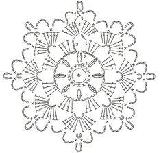 X Centrinhos Delta Porta-Copos Mini Mats Crochet Snowflake Pattern, Crochet Stars, Crochet Snowflakes, Crochet Flower Patterns, Crochet Mandala, Thread Crochet, Crochet Granny, Crochet Doilies, Crochet Flowers
