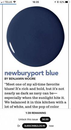 Super Ideas For Dark Blue Front Door Colors Accent Walls Blue Paint Colors, Interior Paint Colors, Paint Colors For Home, Wall Colors, Bright Colors, Interior Painting, Exterior House Colors, Exterior Paint, Blue Accent Walls