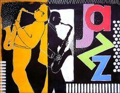 Acrylbild 'Jazz' - Angelika Rump