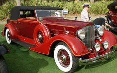 1934 Packard 1104 Super 8 Convertible Victoria | by autoedge