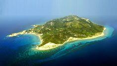 Erikousa island,Greece (air photo)