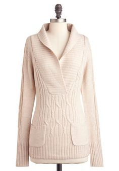 Pretty Practical Sweater, #ModCloth Love this!! So cute!! <3
