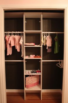 I wish the closet was even half this size but it has some good potential if I can make it on a smaller scale