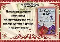 Step right up & enjoy a trip back to a 1920s circus! A #FREE short story! https://www.amazon.com/Cirque-Magie-Historical-Paranormal-Romance-ebook/dp/B006C96WYQ