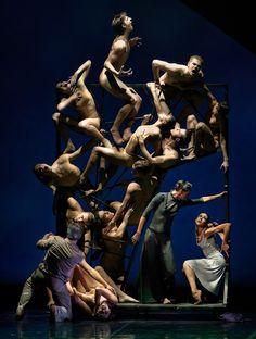 Eifman Ballet in Boris Eifman's Rodin.© Souheil Michael Khoury. (Click image for larger version)