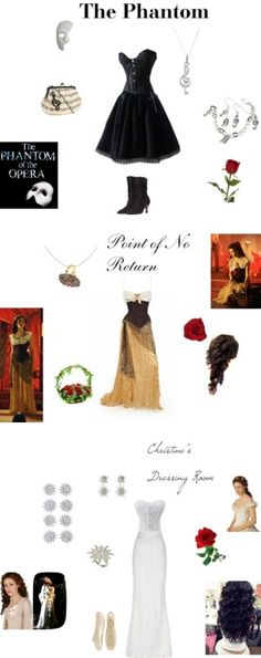 """The Phantom of the Opera"" by sk8tergirl4194 on Polyvore"