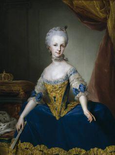Maria Josefa de Lorena, Archduchess of Austria, ca. 1767, artist Anton Raphael Mengs (German 1728-1779), Museo Nacional del Prado, P02186