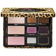 A NEW TOO FACED PALETTE! Cat Eyes Palette - Too Faced | Sephora