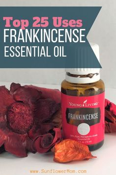 25 uses for frankincense essential oil Top 25 uses for frankincense essential oil. There are countless uses for Frankincense essential oil and what works for one may not work for all but here are 25 great uses. Therapeutic Essential Oils, Essential Oils For Headaches, Frankincense Essential Oil Benefits, Frankincense Essential Oil Uses, Young Living Oils, Young Living Essential Oils, Young Living Frankincense, Cedarwood Oil, Essential Oils