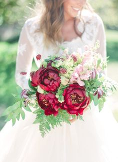 wedding bouquet idea; photo: Connie Whitlock