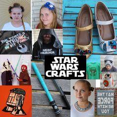 Doodlecraft: 25 STAR WARS DIY Crafts and Geekery!