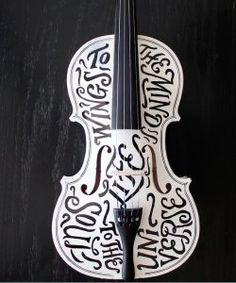 Lettering craft 10 A lettering violine made by Alessio Joseph. Hand Drawn Type, Hand Type, Types Of Lettering, Lettering Design, Brush Lettering, Neat Handwriting, Cool Gadgets To Buy, Creative Class, Creative Ideas