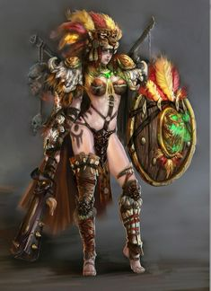 Aztec Aluna avatar recycled to first female str hero.