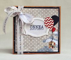 Card for a baby boy by Anski