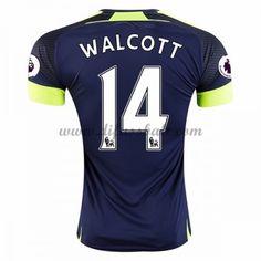 Neues Arsenal 2016-17 Fussball Trikot Theo Walcott 14 Kurzarm Dritte trikotsatz Shop