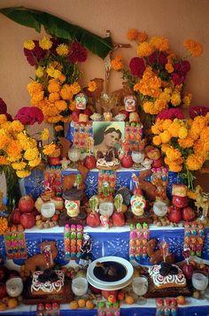 Altar día de muertos