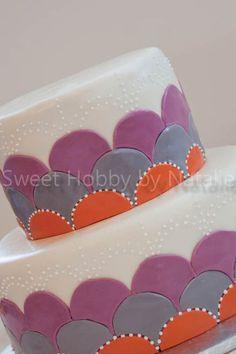 Wedding Inlay Cake
