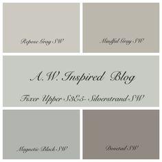 fixer upper paint colors - Google Search