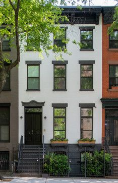 Row House On Pinterest Townhouse Narrow House And