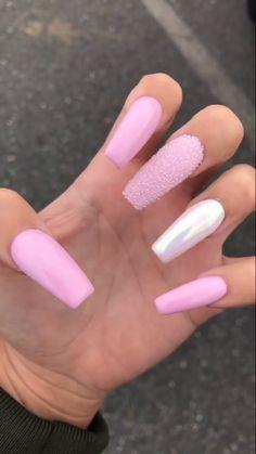 Nails – more awesome takes on nail art. The smart image posted on this imaginati… Nails – mehr genial nimmt auf Nail Art. Perfect Nails, Gorgeous Nails, Pretty Nails, Super Cute Nails, Aycrlic Nails, Hair And Nails, Nails After Acrylics, Fire Nails, Minimalist Nails