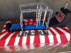 American Ninja Warrior cake. This one was a ridiculous  challenge.