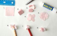 Pikadilly Charm: Tissue Paper Cherry Blossom Tree