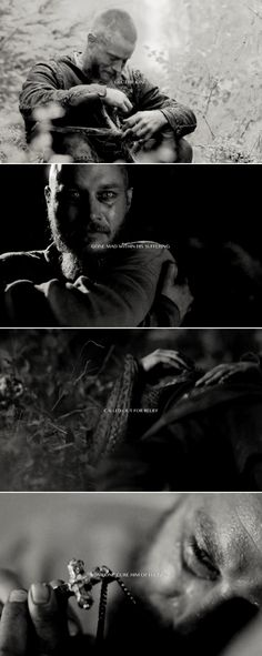 Ragnar: Oh, what is it worth when all that's left is hurt? #vikings