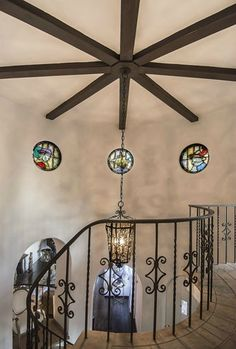 hollyridge spanish remodel staircase via kishani perera blog