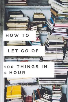 Decluttering Burst: Drop one hundred objects in less than an hour - Minimalism - FREE, CHEAP AND EASY Tips for Living a Minimalist Lifestyle ! Shabby Chic Style, Minimalism Living, Clutter Control, Declutter Your Life, Declutter House, Clutter Organization, Organization Quotes, Organization Station, Jewelry Organization