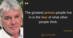 Wij #inspireren mensen om zichzelf te bevrijden! Other People, Prison, Quotes, Quotations, Quote, Shut Up Quotes