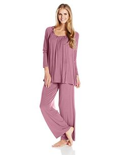 ff4a829bc8 Midnight by Carole Hochman Women s Modal Packaged Pajama Set Modal pajama
