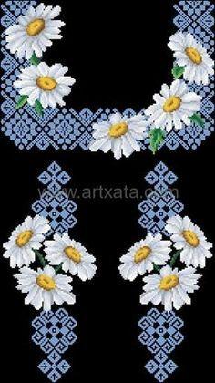 Картинки по запросу схемы вышивки крестом для вышиванок