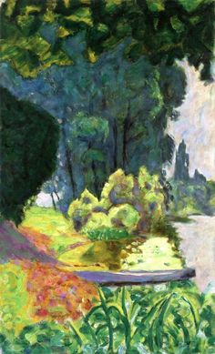 Boat on the Banks of the Seine Pierre. Bonnard, circa 1916.