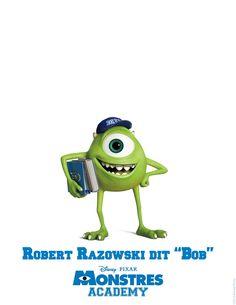 Découvrez les personnages de Monstres Academy | Parents du net  www.parentsdunet.com