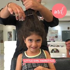 Make your day a whole lot better with these little girls' cuteness! By: @danyazzam Little Girl Hairstyles, Easy Hairstyles, Hair Transformation, Little Girls, Yoga, Hair Styles, Health, Cute, Up Dos
