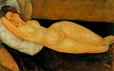 Berthe Morisot Online, Nude, Oil Paintings Only For Art Lovers! This is a non-profits site and shows all the paintings of Berthe Morisot's art works. Amedeo Modigliani, Modigliani Paintings, Berthe Morisot, Italian Painters, Life Drawing, Portrait Art, Figure Painting, Oeuvre D'art, Lovers Art