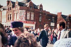 Princess Diana visits Bernados Home on Holderness Road, via Flickr.
