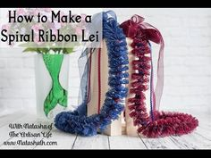 How to Make a Spiral Ribbon Lei Is Live! -