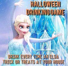 LMAO Halloween drinking game !