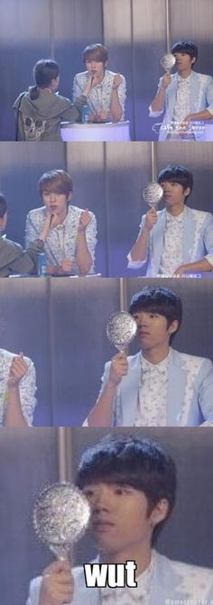 Will Always Make Me Laugh so Hard Haha #woohyun and sungyeol looks absolutely gorgeous