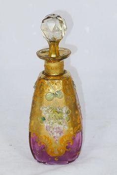 Venetian Glass Perfume Bottle -- 19th Century