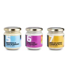 Diseño de etiquetas salsas gourmet