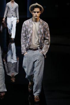 Giorgio Armani | Menswear - Spring 2017 | Look 5