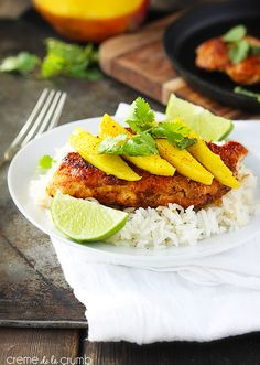 Sweet Paprika Chicken {5 ingredients} - Creme De La Crumb