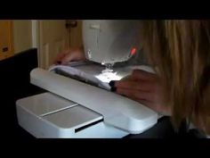 How to monogram a hand towel using Monogram-IT and a Brother embroidery machine